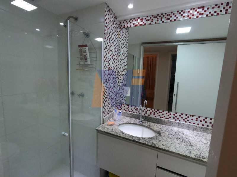 BANHEIRO - Apartamento 3 quartos à venda Vicente de Carvalho, Rio de Janeiro - R$ 488.000 - PCAP30070 - 14