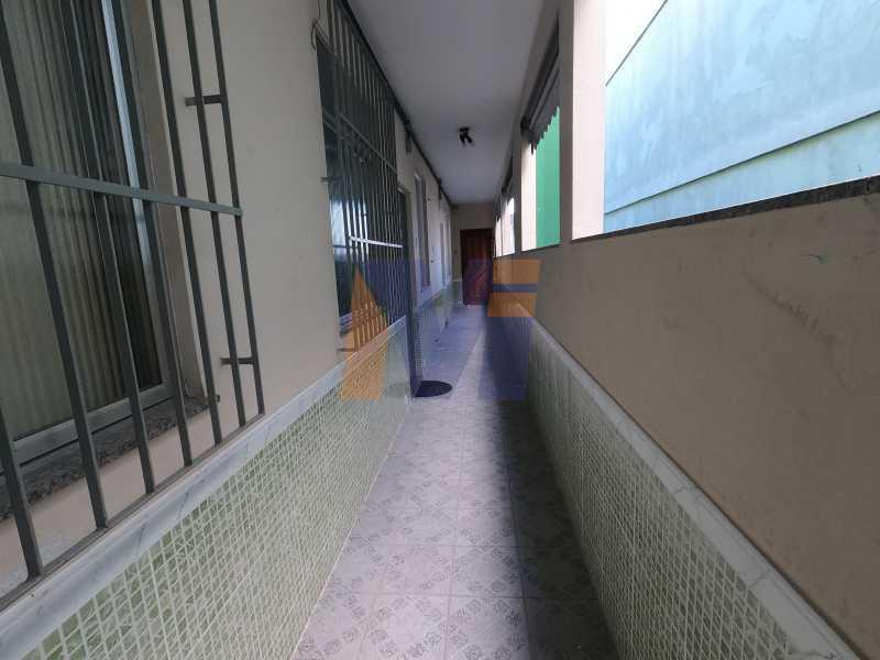 CORREDOR DO PRÉDIO - Apartamento 1 quarto para alugar Vila da Penha, Rio de Janeiro - R$ 800 - PCAP10028 - 3