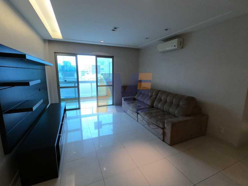 SALA DE TV - Apartamento 3 quartos à venda Humaitá, Rio de Janeiro - R$ 1.770.000 - PCAP30077 - 3