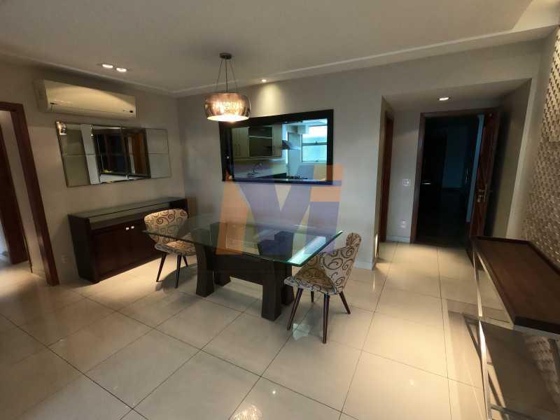 SALA DE JANTAR - Apartamento 3 quartos à venda Humaitá, Rio de Janeiro - R$ 1.770.000 - PCAP30077 - 1