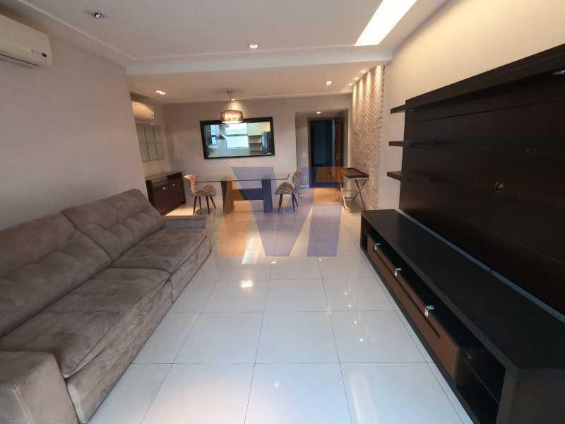 SALA EM DOIS AMBIENTES - Apartamento 3 quartos à venda Humaitá, Rio de Janeiro - R$ 1.770.000 - PCAP30077 - 4