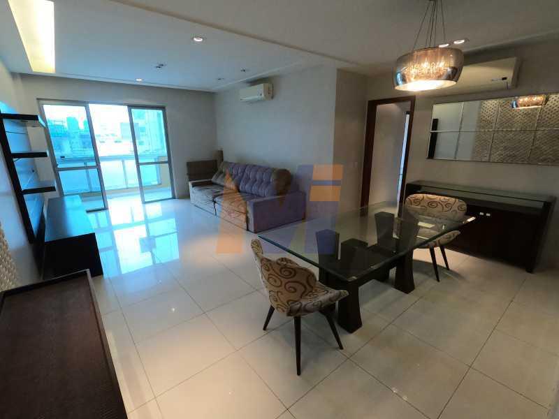 PORTA DA VARANDA  - Apartamento 3 quartos à venda Humaitá, Rio de Janeiro - R$ 1.770.000 - PCAP30077 - 5