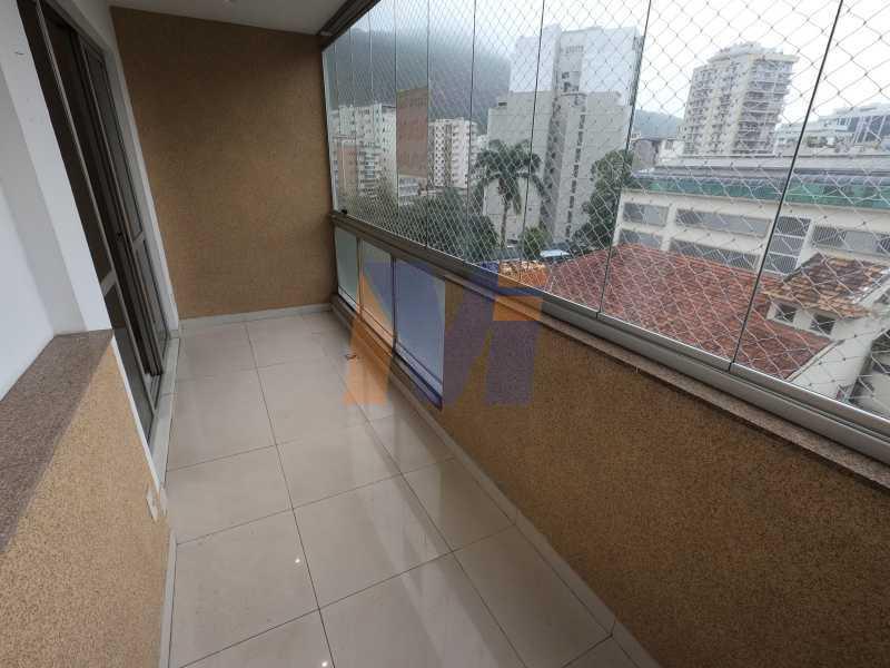 VARANDA CORTINA VIDRO - Apartamento 3 quartos à venda Humaitá, Rio de Janeiro - R$ 1.770.000 - PCAP30077 - 6
