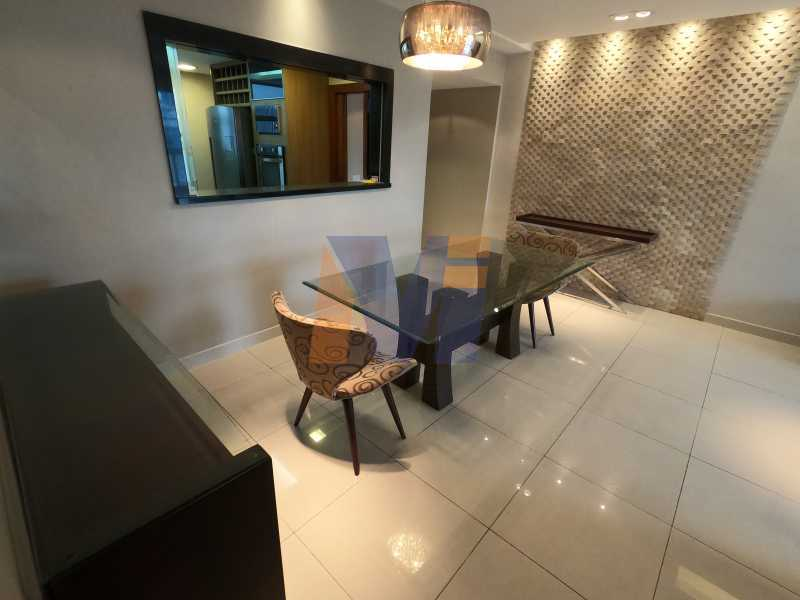SALA DE JANTAR - Apartamento 3 quartos à venda Humaitá, Rio de Janeiro - R$ 1.770.000 - PCAP30077 - 9