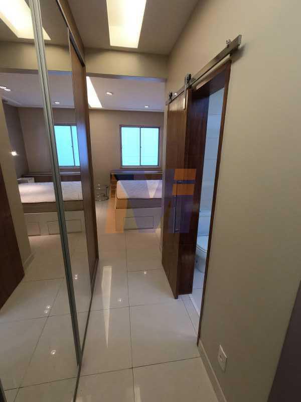 SUÍTE  - Apartamento 3 quartos à venda Humaitá, Rio de Janeiro - R$ 1.770.000 - PCAP30077 - 21