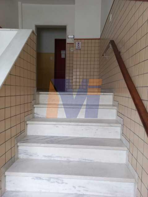 ESCADAS DO PRÉDIO LARGAS - Apartamento 2 quartos à venda Cachambi, Rio de Janeiro - R$ 190.000 - PCAP20271 - 8