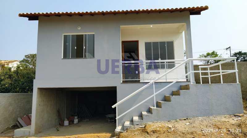 Frente casa - Casa 2 quartos à venda Maricá,RJ - R$ 285.000 - CECA20781 - 1