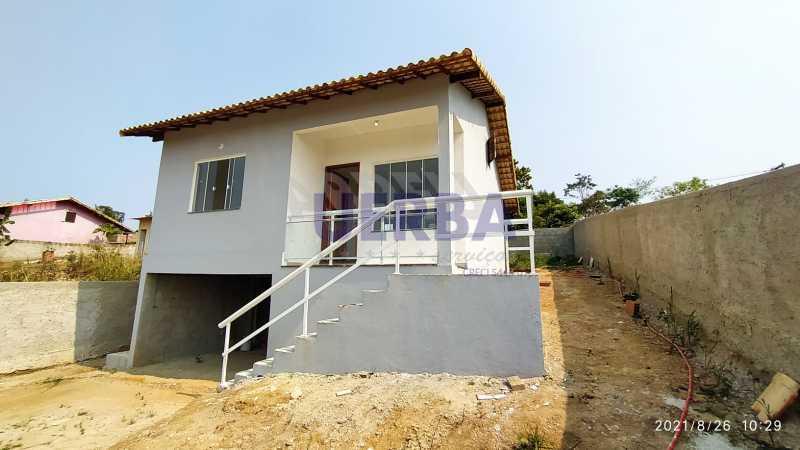 Frente casa 2 - Casa 2 quartos à venda Maricá,RJ - R$ 285.000 - CECA20781 - 3