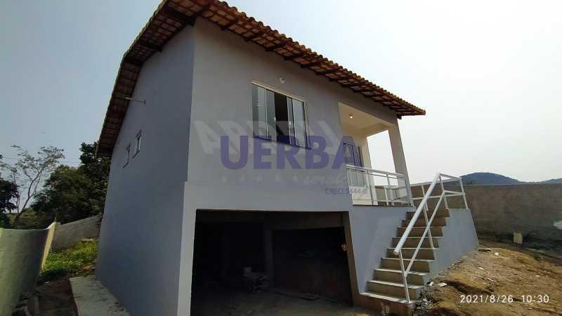 Lateral casa - Casa 2 quartos à venda Maricá,RJ - R$ 285.000 - CECA20781 - 4