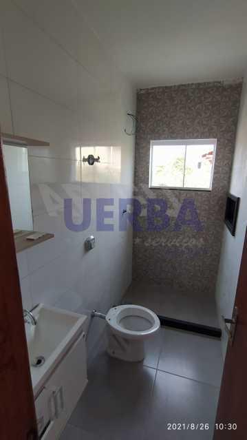 Banheiro suíte - Casa 2 quartos à venda Maricá,RJ - R$ 285.000 - CECA20781 - 10