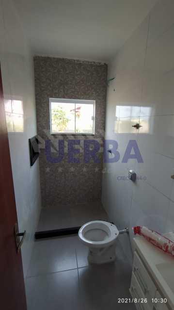 Banheiro social - Casa 2 quartos à venda Maricá,RJ - R$ 285.000 - CECA20781 - 11