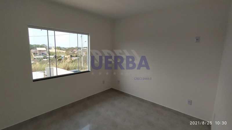 Quarto suíte - Casa 2 quartos à venda Maricá,RJ - R$ 285.000 - CECA20781 - 9