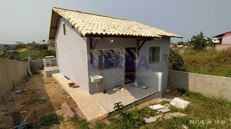 Área de serviço - Casa 2 quartos à venda Maricá,RJ - R$ 285.000 - CECA20781 - 12