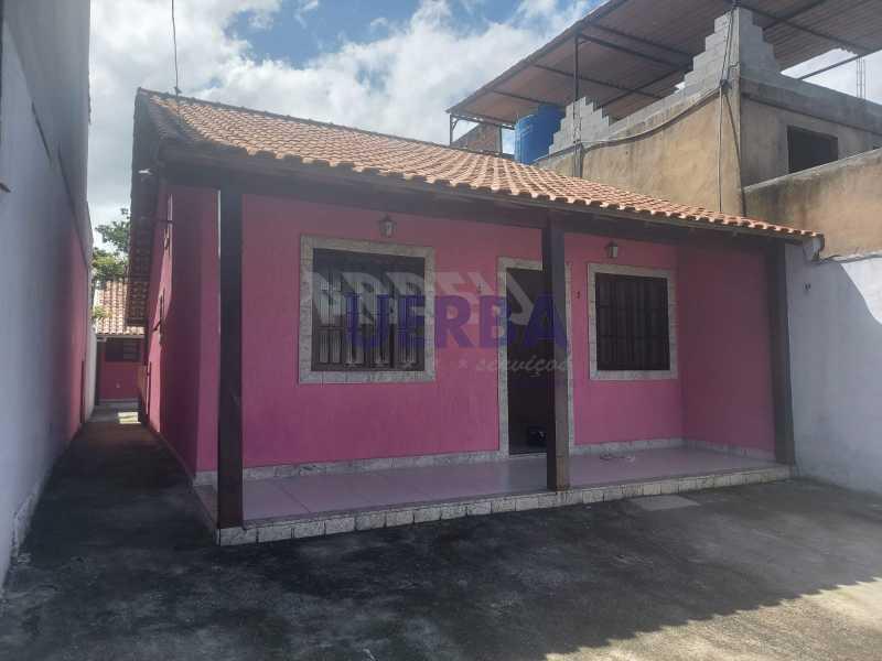 FRENTE/VARANDA - Casa 2 quartos para alugar Maricá,RJ - R$ 1.700 - CECA20796 - 1