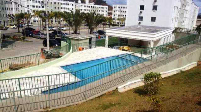 1 - Apartamento 2 quartos para alugar Campo Grande, Rio de Janeiro - R$ 985 - CGAP20284 - 1