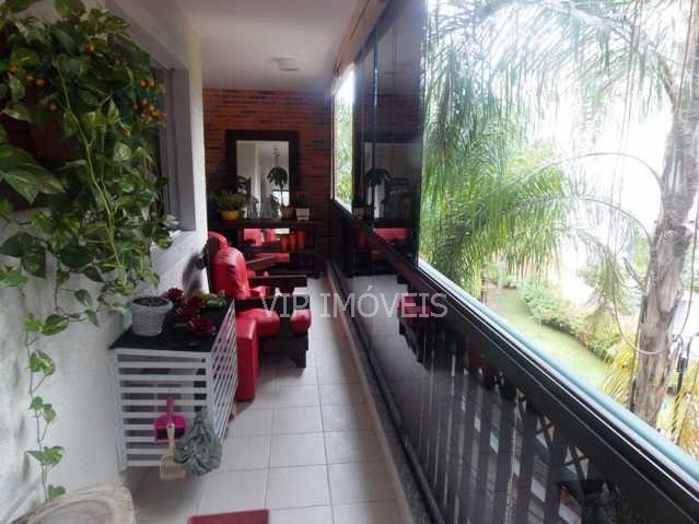 4 - Apartamento 4 quartos à venda Campo Grande, Rio de Janeiro - R$ 615.000 - CGAP40004 - 5