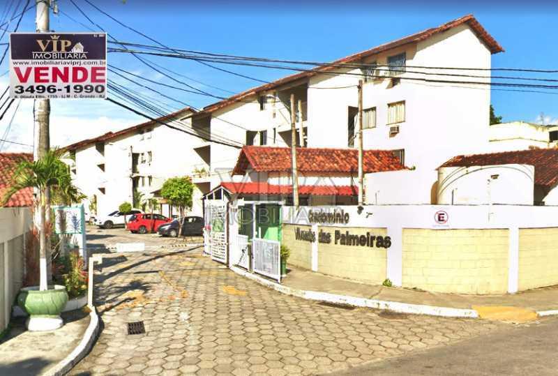 RUA MORANGA - Apartamento à venda Rua Moranga,Campo Grande, Rio de Janeiro - R$ 140.000 - CGAP20313 - 1