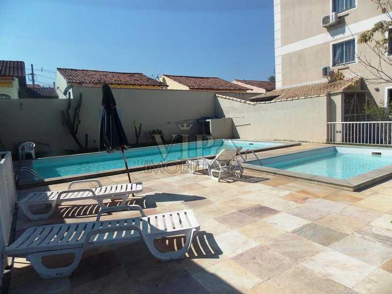 1 - Apartamento à venda Estrada do Mendanha,Campo Grande, Rio de Janeiro - R$ 135.000 - CGAP20393 - 1
