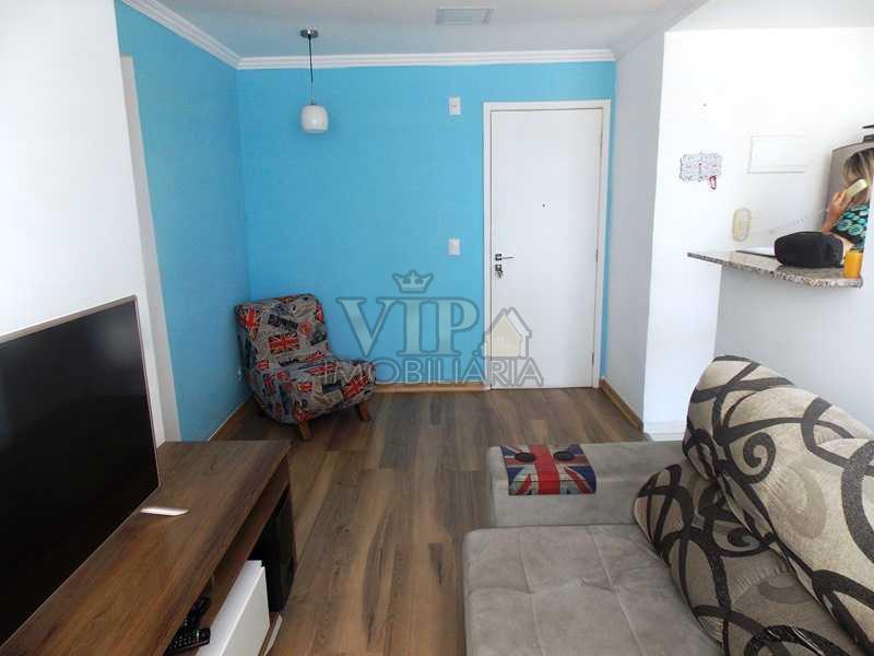 2 - Apartamento à venda Estrada do Mendanha,Campo Grande, Rio de Janeiro - R$ 135.000 - CGAP20393 - 3