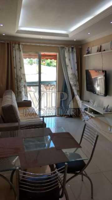 1 - Apartamento à venda Estrada da Cachamorra,Campo Grande, Rio de Janeiro - R$ 189.990 - CGAP20492 - 3