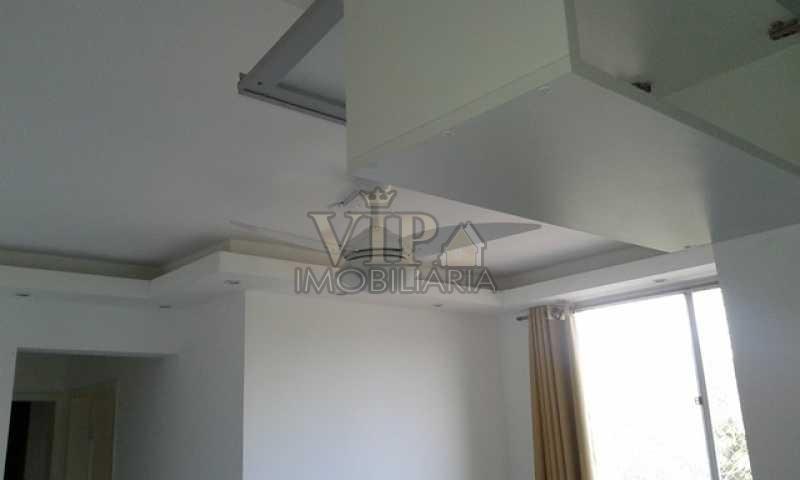 2 - Apartamento Campo Grande, Rio de Janeiro, RJ Para Alugar, 2 Quartos, 56m² - CGAP20517 - 3