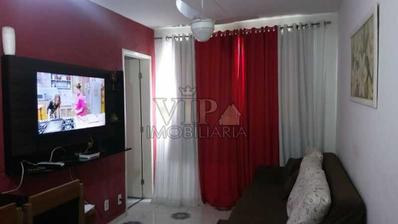 1 - Apartamento 2 quartos à venda Campo Grande, Rio de Janeiro - R$ 130.000 - CGAP20536 - 1