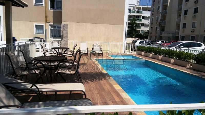 1 - Apartamento para alugar Estrada da Cachamorra,Campo Grande, Rio de Janeiro - R$ 700 - CGAP20563 - 1