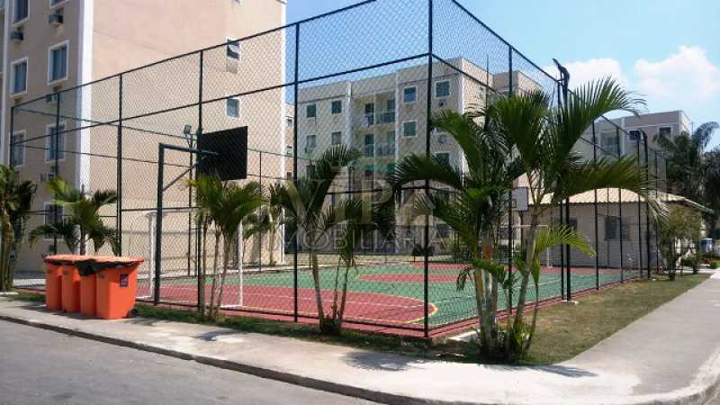 7 - Apartamento para alugar Estrada da Cachamorra,Campo Grande, Rio de Janeiro - R$ 700 - CGAP20563 - 8