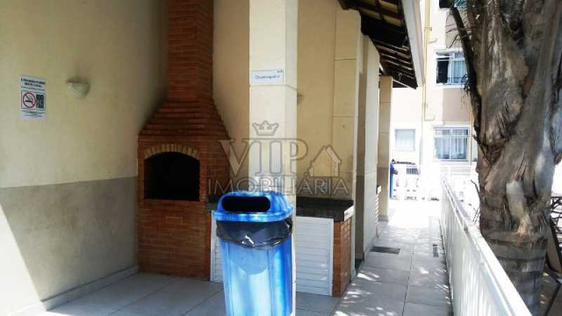 8 - Apartamento para alugar Estrada da Cachamorra,Campo Grande, Rio de Janeiro - R$ 700 - CGAP20563 - 9