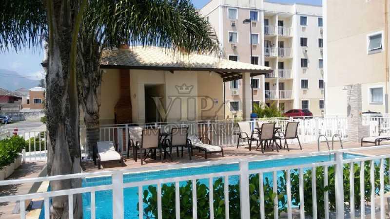 9 - Apartamento para alugar Estrada da Cachamorra,Campo Grande, Rio de Janeiro - R$ 700 - CGAP20563 - 10
