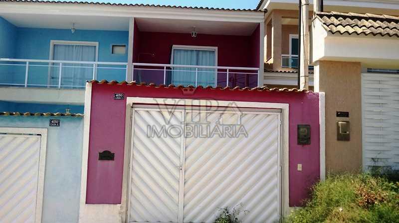 1 - Casa 2 quartos à venda Campo Grande, Rio de Janeiro - R$ 380.000 - CGCA20862 - 1