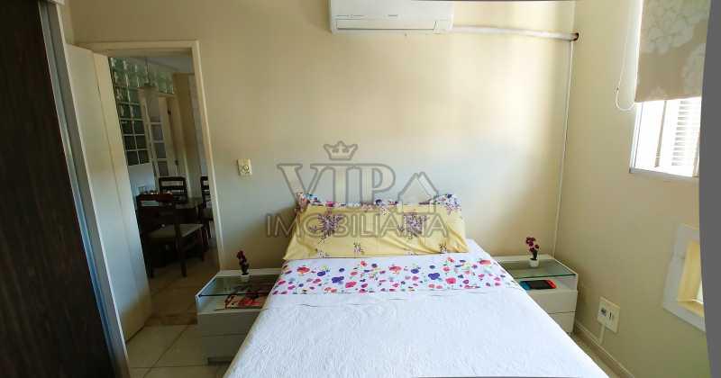 Quarto Principal - frente - C? - Apartamento À Venda - Campo Grande - Rio de Janeiro - RJ - CGAP20648 - 3