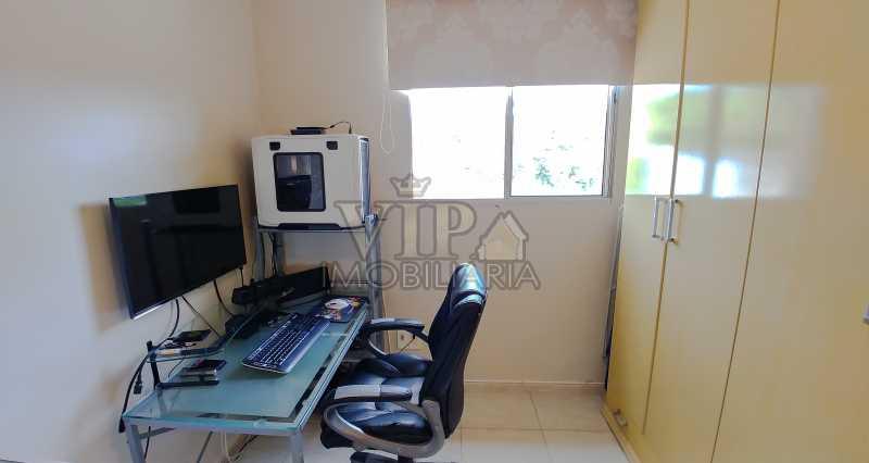Quarto Secundário - Vista da  - Apartamento À Venda - Campo Grande - Rio de Janeiro - RJ - CGAP20648 - 8