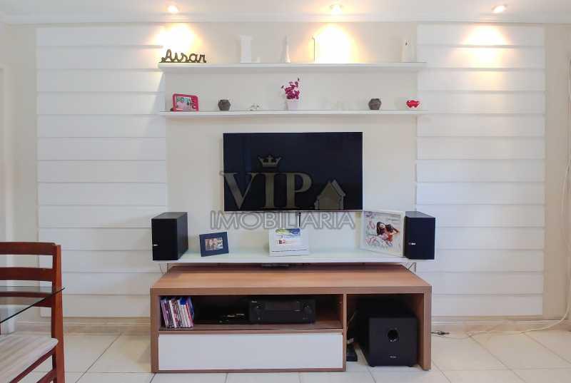 Sala - Vista do Sofá - Apartamento À Venda - Campo Grande - Rio de Janeiro - RJ - CGAP20648 - 1