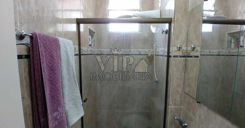 Baneiro - Vista da porta 3 1 - Apartamento À Venda - Campo Grande - Rio de Janeiro - RJ - CGAP20648 - 13