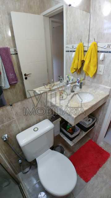 Banheiro - Vista da porta do B - Apartamento À Venda - Campo Grande - Rio de Janeiro - RJ - CGAP20648 - 14