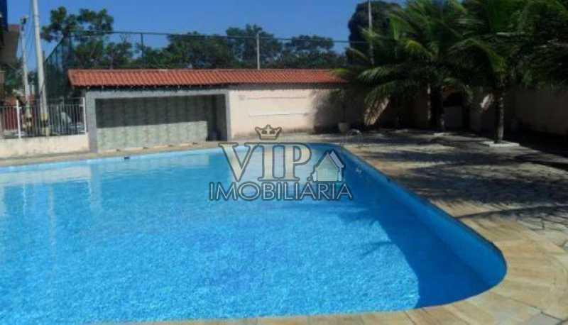 2242_G1501940935 - Apartamento à venda Estrada Iaraqua,Campo Grande, Rio de Janeiro - R$ 195.000 - CGAP20654 - 1
