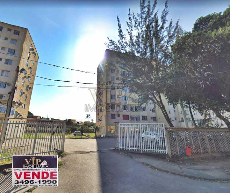 CONDOMINIO MOINHO - Apartamento à venda Rua Severino Ferreira da Costa,Campo Grande, Rio de Janeiro - R$ 140.000 - CGAP20718 - 1