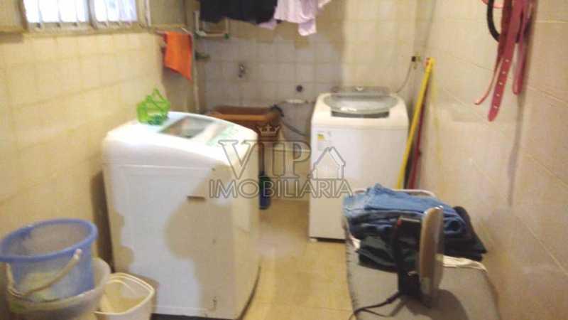 Área de Serviço - Casa À Venda - Santa Cruz - Rio de Janeiro - RJ - CGCA30485 - 17