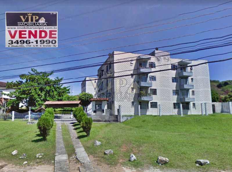 colinas do magarça - Apartamento à venda Estrada do Magarça,Campo Grande, Rio de Janeiro - R$ 150.000 - CGAP20751 - 1