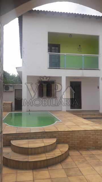 FUNDOS 7 - Casa à venda Avenida José Mariozzi Filho,Guaratiba, Rio de Janeiro - R$ 530.000 - CGCA40121 - 1