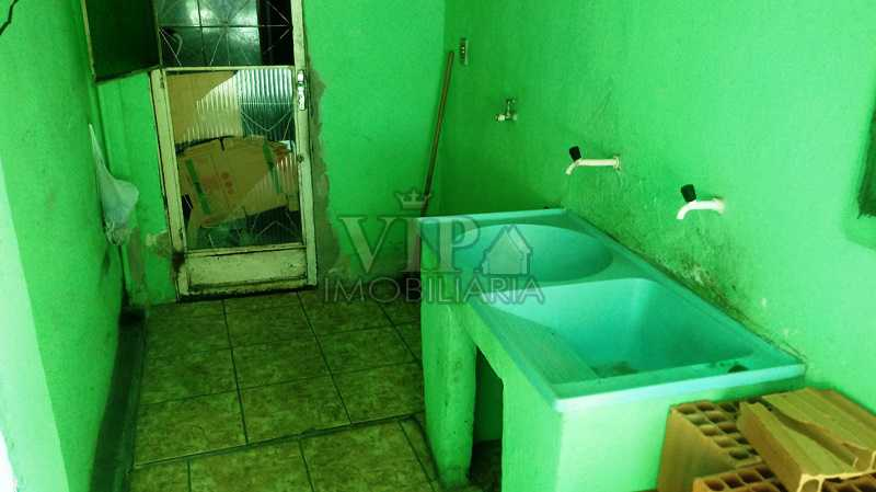 17 - Casa à venda Rua Jair Tavares,Paciência, Rio de Janeiro - R$ 130.000 - CGCA20999 - 19