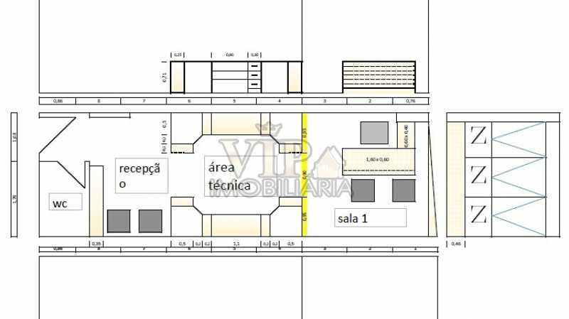 WhatsApp Image 2019-10-10 at 1 - Sala Comercial 26m² para venda e aluguel Avenida Maria Teresa,Campo Grande, Rio de Janeiro - R$ 195.000 - CGSL00020 - 7
