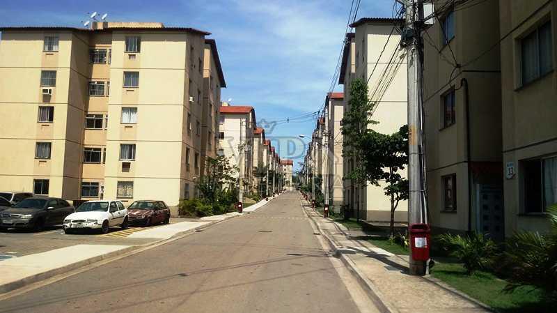 01 - Apartamento à venda Estrada da Paciência,Cosmos, Rio de Janeiro - R$ 125.000 - CGAP20864 - 1