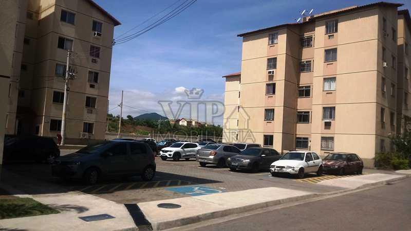 02 - Apartamento à venda Estrada da Paciência,Cosmos, Rio de Janeiro - R$ 125.000 - CGAP20864 - 3