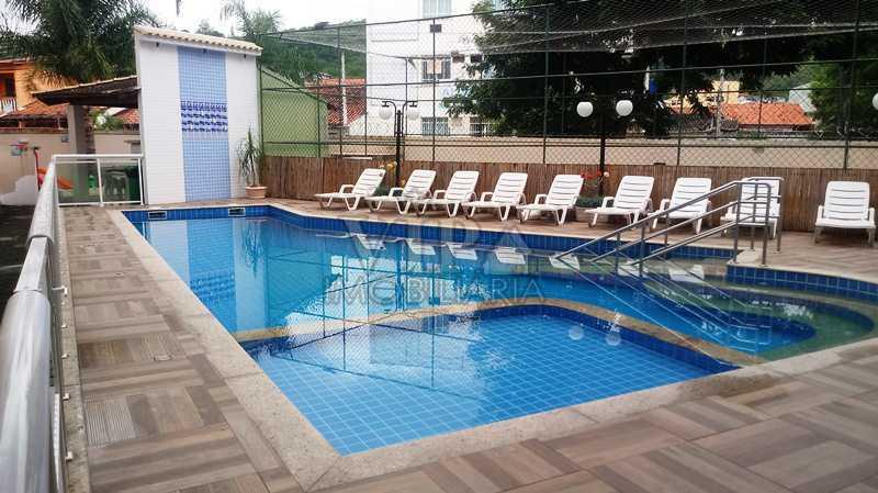 01 - Apartamento para venda e aluguel Estrada da Posse,Campo Grande, Rio de Janeiro - R$ 195.000 - CGAP20872 - 1