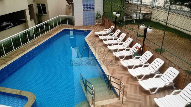 02 - Apartamento para venda e aluguel Estrada da Posse,Campo Grande, Rio de Janeiro - R$ 195.000 - CGAP20872 - 3