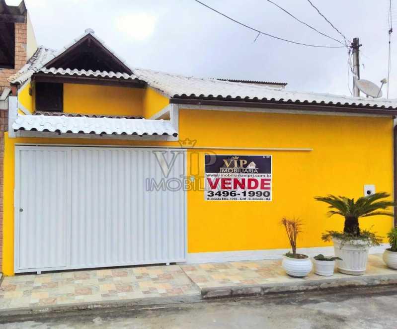 01. - Casa à venda Rua Goio Ere,Campo Grande, Rio de Janeiro - R$ 250.000 - CGCA21107 - 1