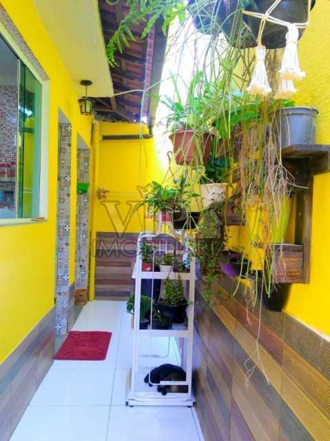 02 2. - Casa à venda Rua Goio Ere,Campo Grande, Rio de Janeiro - R$ 250.000 - CGCA21107 - 4