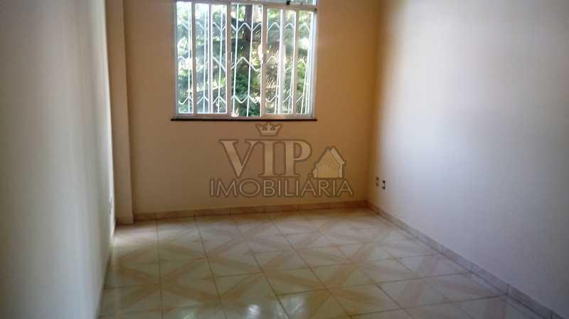 01 - Apartamento à venda Estrada da Pedra,Santa Cruz, Rio de Janeiro - R$ 85.000 - CGAP20887 - 1